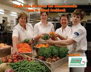 Farm to School Cookbook Cover