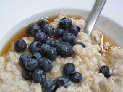 oatmeal blueberries, 8:7:13
